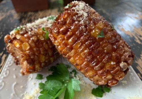 fried corn on the cob