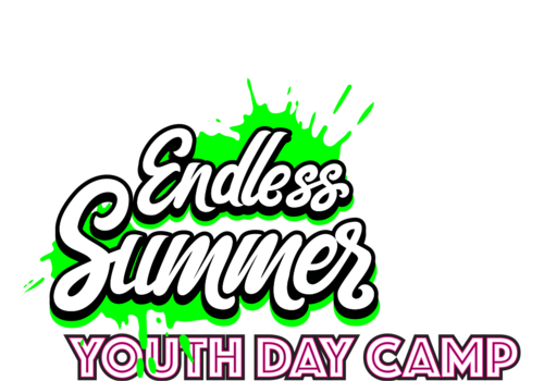 Text in Image Endless Summer Youth Day Camp