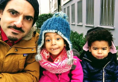 Noodle Loaf Dan Saks and his kids