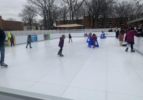 Outdoor skating rink Mahoning Valley