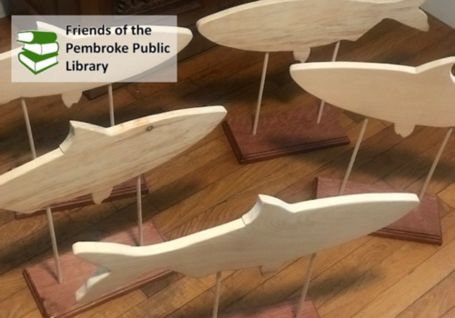 Decorate a Herring fundraiser for the Pembroke Public Library in Pembroke MA