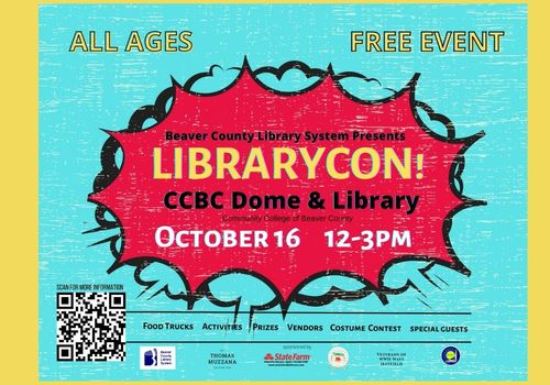 Beaver County Library System Presents Librarycon!