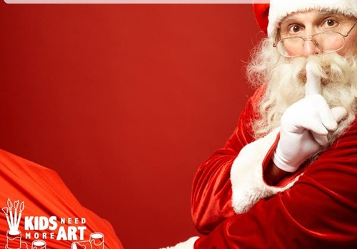 Kids Need More Art Santa's Secret Workshops