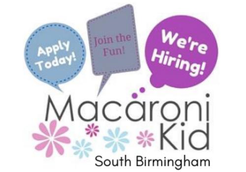 Macaroni Kid hiring ad sales marketing assistant in Birmingham, Hoover, Alabaster, Alabama part-time job