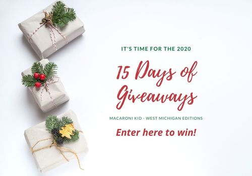 15 Days of Holiday Giveaways