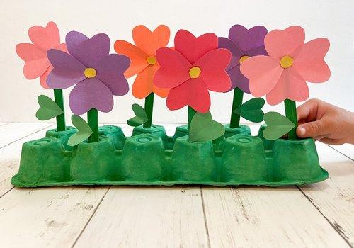 Paper Flower Garden Craft
