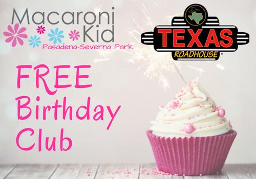 FREE Birthday Club