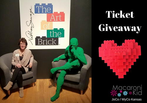 Ticket Giveaway Art of the Brick