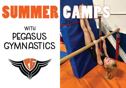 Summer Camps with Pegasus Gymnastics