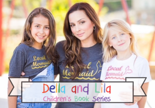 Della and Lila Children's Book Series three books written by local Pittsburgh girls