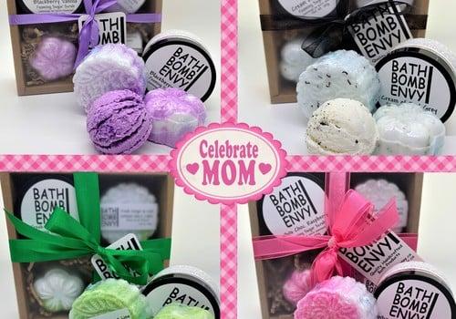 Mother's Day Gift Sets Bath Bomb Envy