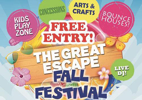 Boundless Gymnastics 2019 Great Escape Fall Festival