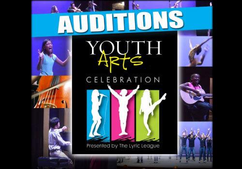 Youth Arts Celebration Auditions