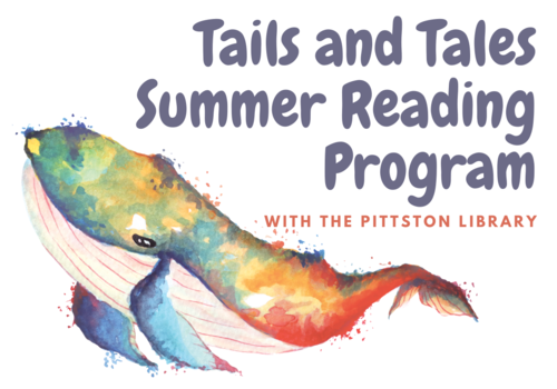 Tails and Tales, summer reading, Pittston Memorial Library