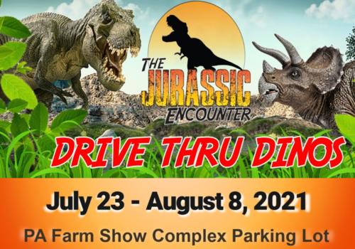 Jurassic Encounter Drive Thru Dinos coming to Harrisburg