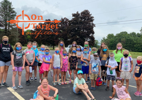 Summer camp at On Target Outfitters in Canfield Ohio