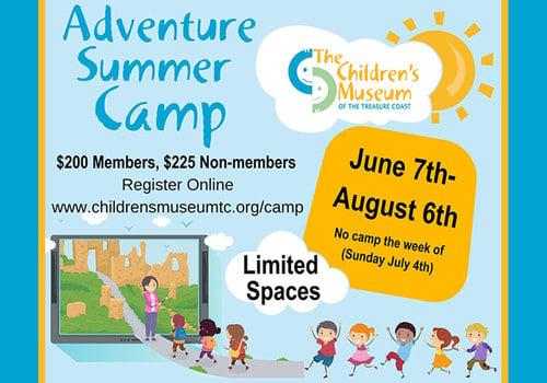 The Children's Museum of the Treasure Coast 2021 Summer Camp