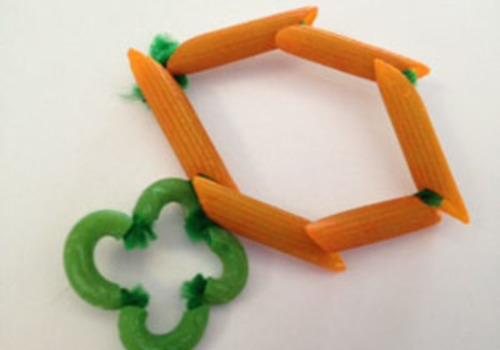 Macaroni St. Patrick's Day Bracelets!
