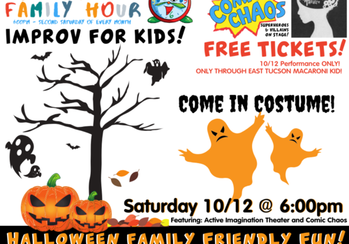 Tucson Unscrewed Theater Family Halloween Show