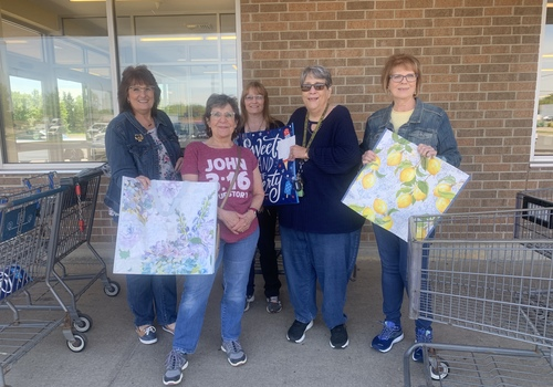 Ladies of Gilead church doing random acts of kindness