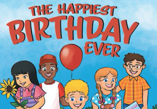 Book The Happiest Birthday Ever by local author