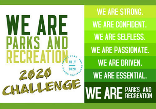 2020 Martin County Parks and Rec challenge flyer