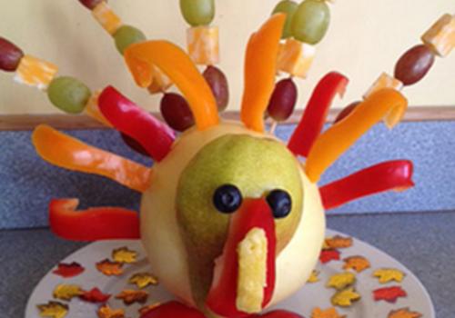 Turkey Centerpiece Appetizer