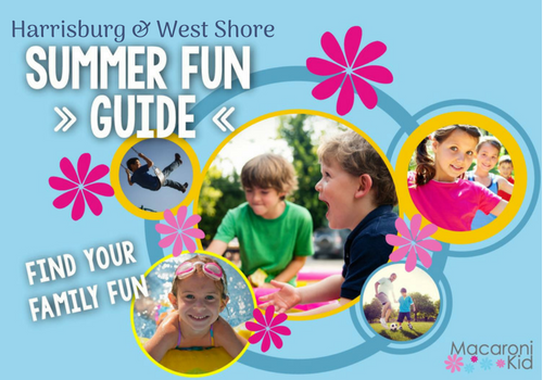 Summer Fun Guide 2018 family fun camp hill cumberland county dauphin county things to do activities kid child children preschooler toddler child children free camp movies harrisburg mechanicsburg