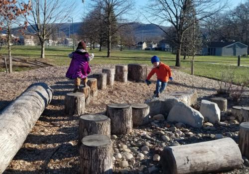 Brandon Park, Nature Playground, Outside Play