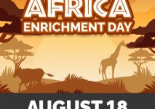 Lehigh Valley Zoo Africa Enrichment Day August 18 2019