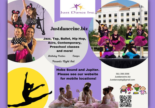 2021 Just Dance Hobe Sound Flyer