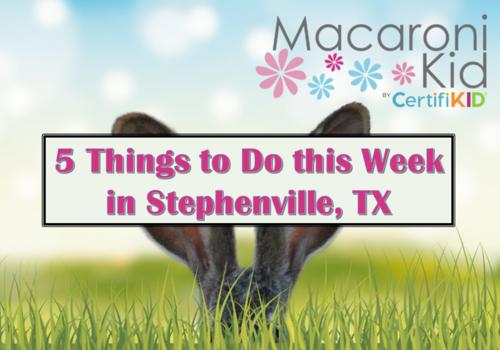 5 Things Stephenville