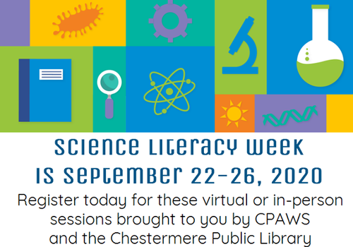 Science Week Chestermere Library