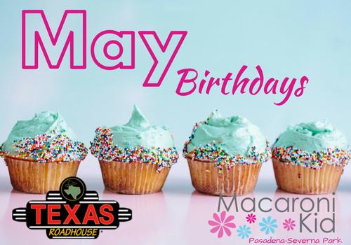Birthday Club May