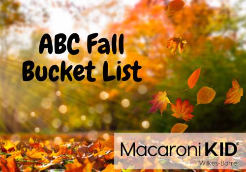 ABC Fall Bucket List
