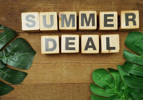 Letter tiles Summer deals