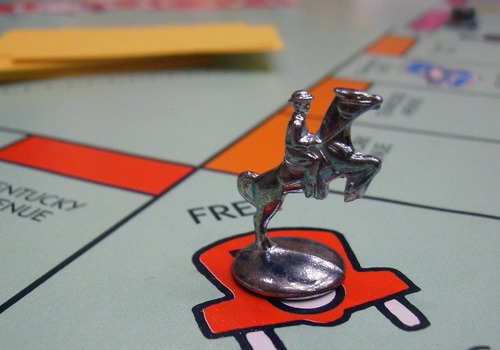 monopoly game piece
