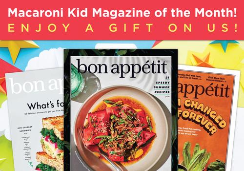 Magazine of the Month club July 2021 -- bon appetit