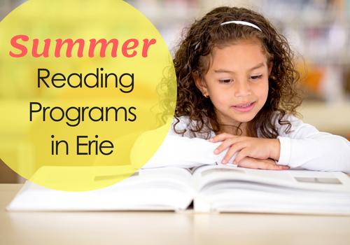 Summer reading programs in Erie
