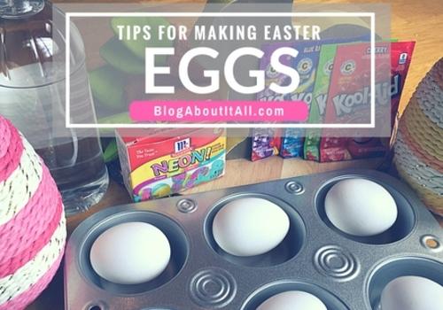 Tips for making Easter Eggs