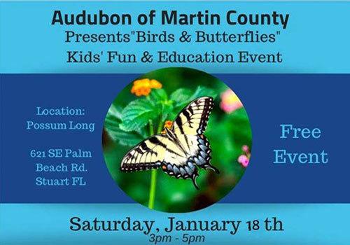 2020 Audubon of Martin County Birds & Butterflies