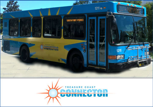 St. Lucie County TC Connector Bus