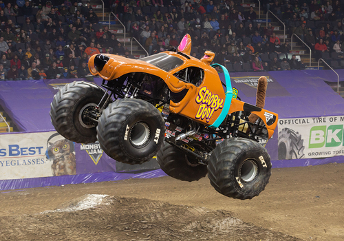 Scooby Doo Monster Jam Truck