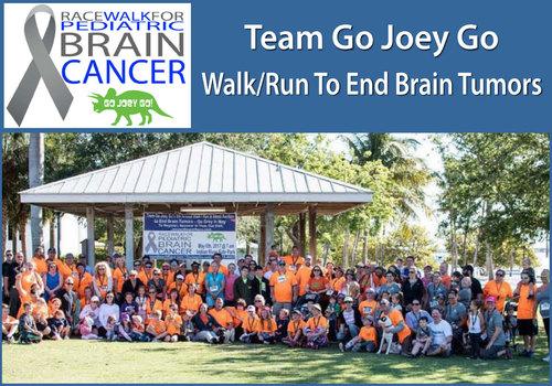 Team Go Joey Go Race Walk for Pediatric Brain Cancer