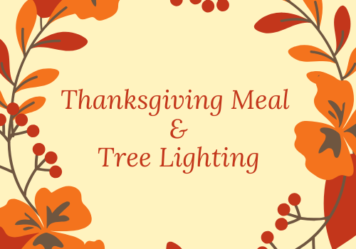 Thanksgiving Meal Tree Lighting New Cumberland Pennsylvania Central PA  things to do activities harrisburg mechanicsburg linglestown dauphin cumberland county enola family kids toddler what to do