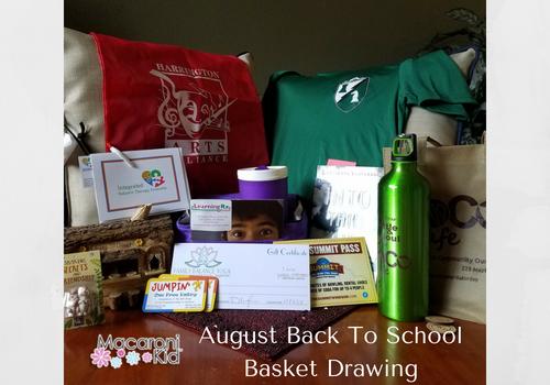 Aug Back To School Basket
