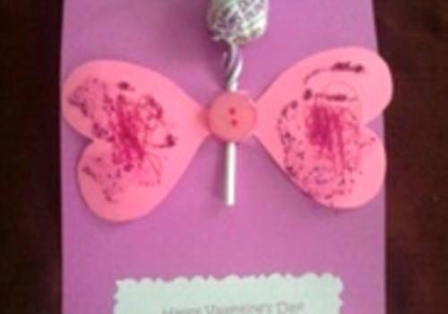 Craft a Valentine for kids