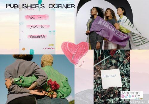 Publisher's Corner Kindness