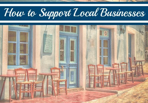 5 Ways to Support Small Businesses