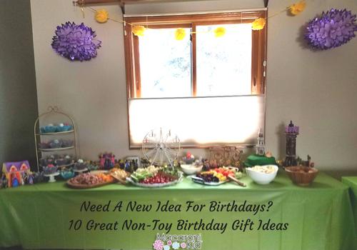 Non Toy Ideas For Birthday